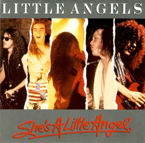 LITTLE ANGELS She's A Little Angel Vinyl Record 7 Inch Polydor 1990